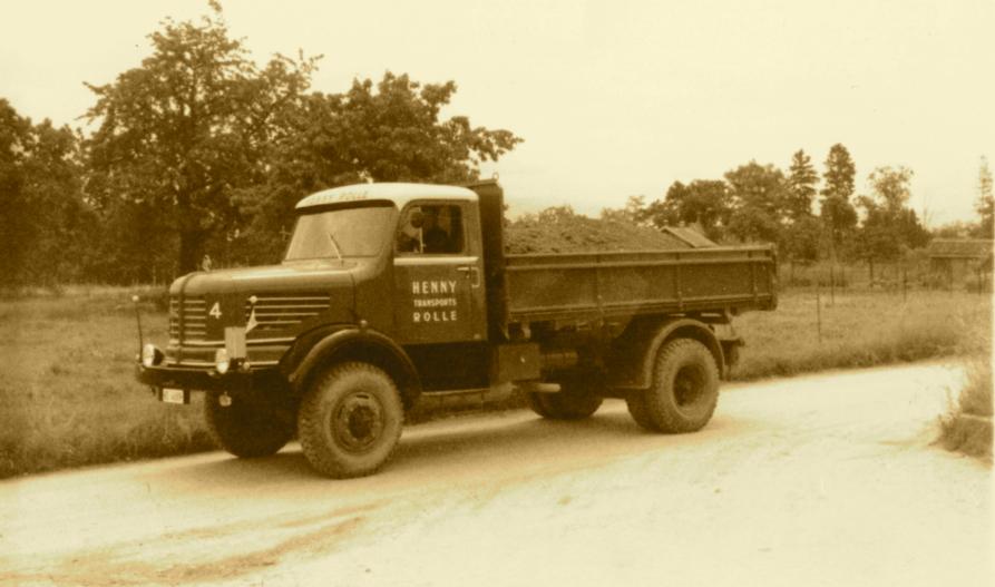 Le Krupp K701, vers 1960