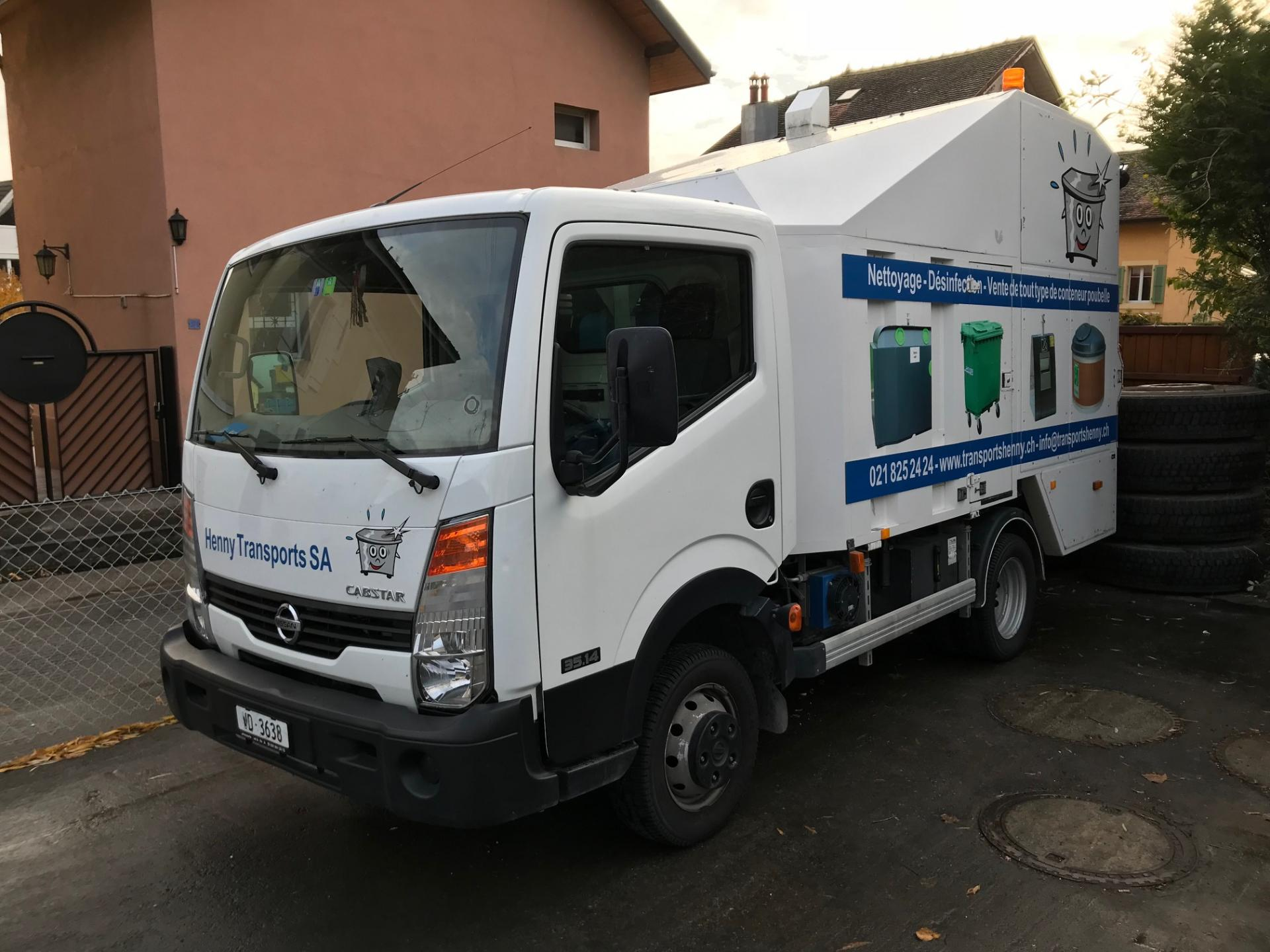 Camionlaveur